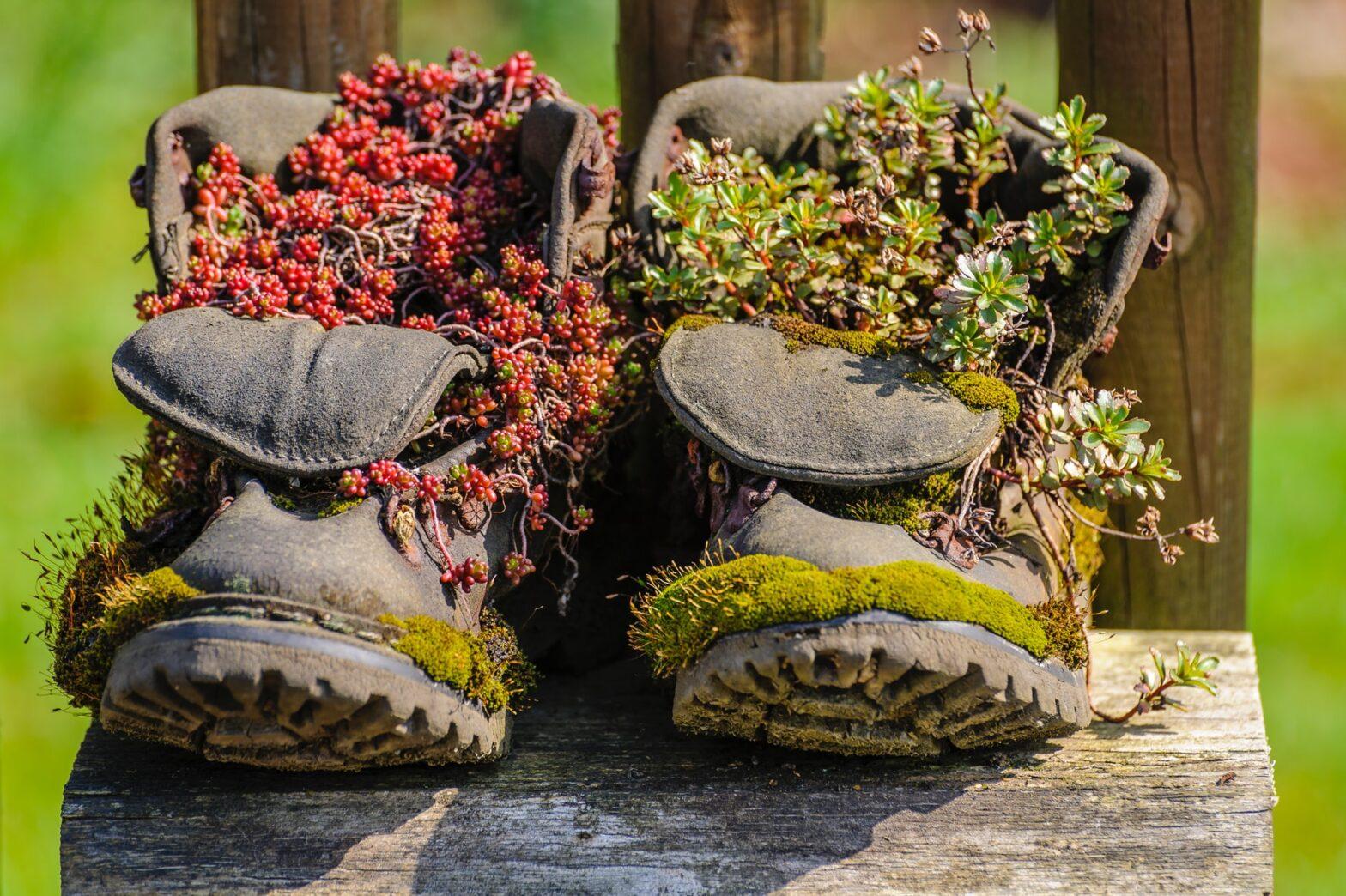cosa fare con le scarpe vecchie