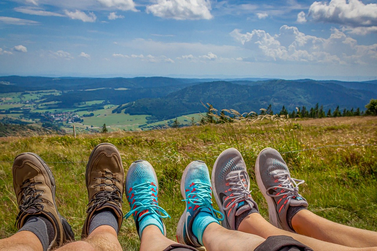 pulire le scarpe da trekking