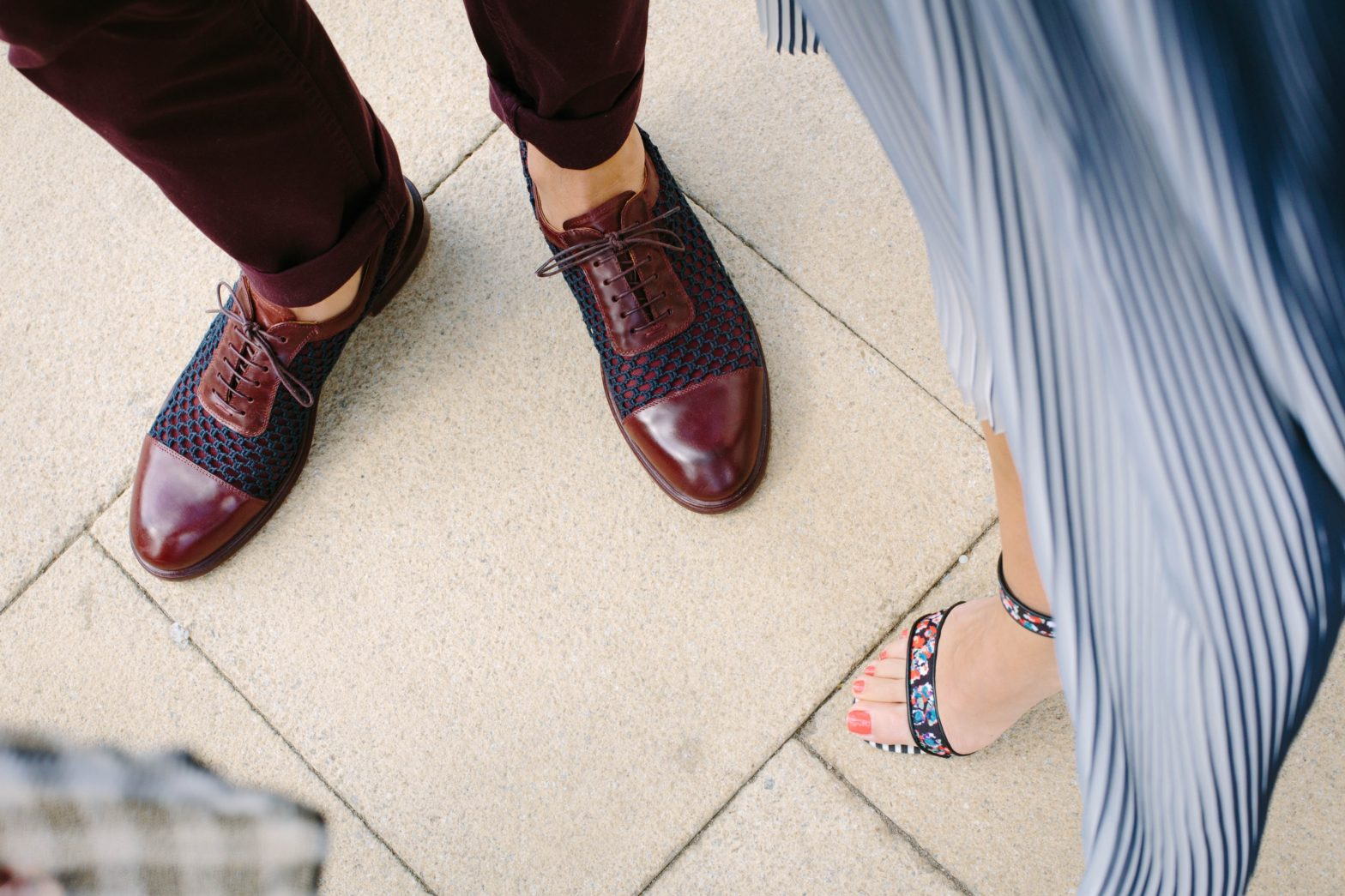 cura della scarpa in pelle