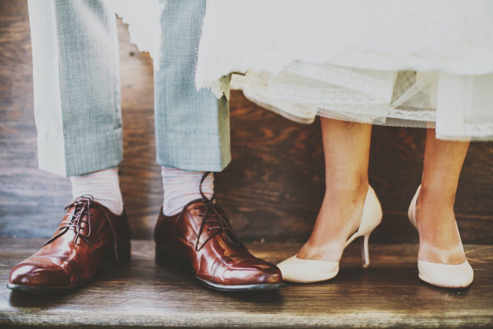 Scegliere le scarpe da matrimonio